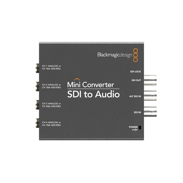 Blackmagic Mini Converter SDI Audio