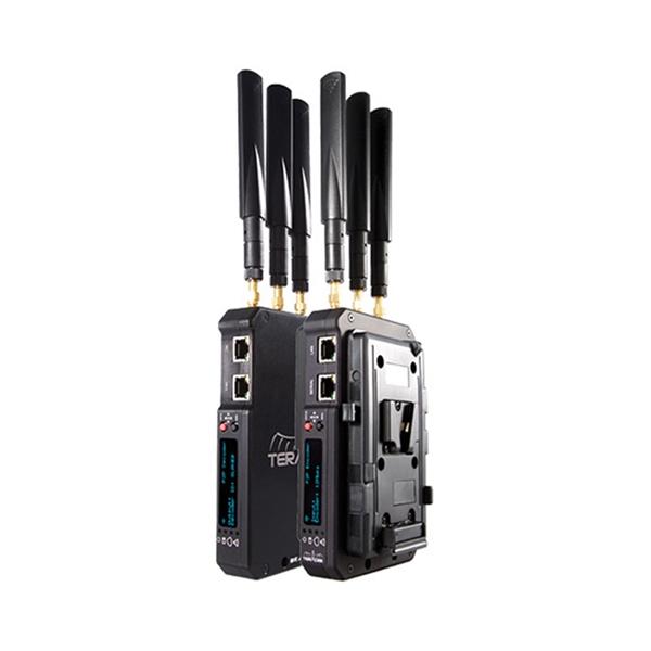 Teradek Beam Transmitter Receiver Set with Two V Mount Plates 1